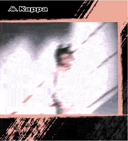 无拘束的青春格调时尚博主演绎kappaBF男友风系列