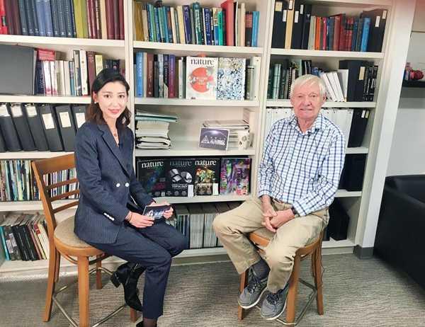 《未来简说》赴美专访诺贝尔奖得主 王星对话阿希姆·弗兰克