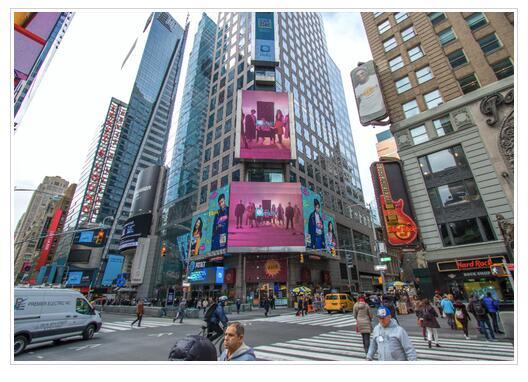 热拉爱豆登陆纽约时代广场引全球媒体关注 新女性APP强势来袭展新女性风采