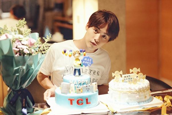 谁让马天宇的生日如此与众不同?当然是好搭档TCL!