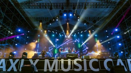 GALA现身阿西里西音乐节 借《新生》呼吁版权意识