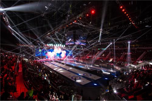冰火势力,强势比拼!2018中国冰壶公开赛,孙楠、那吾克热率众星于重庆开幕