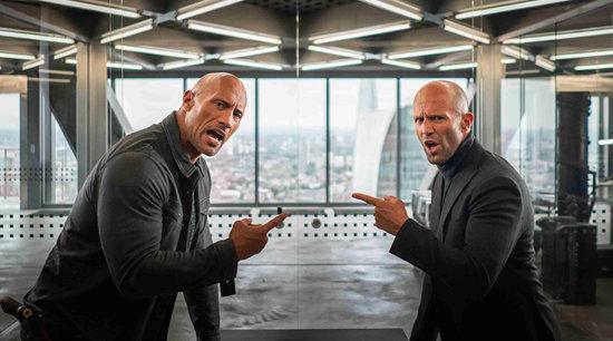 《速度与激情:特别行动》首支预告曝光  巨石强森、杰森·斯坦森激燃上演反套路兄弟情