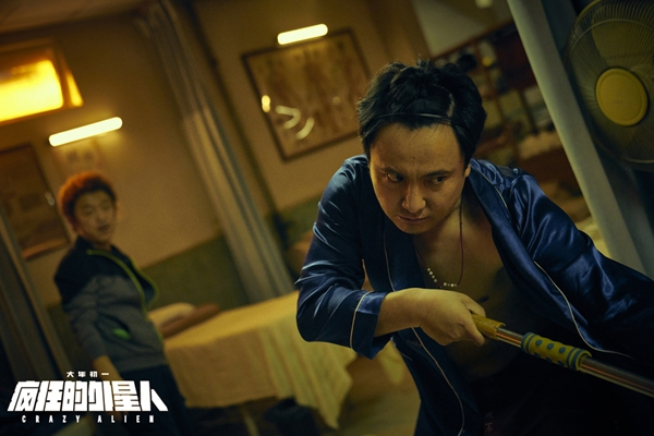 《疯狂的外星人》破17亿宁浩路演获小影迷点赞 沈腾雷佳音争抢颜值担当