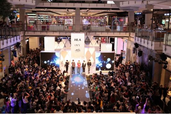 HLA海澜之家品牌矩阵强势入驻泰国,半个娱乐圈都来了!