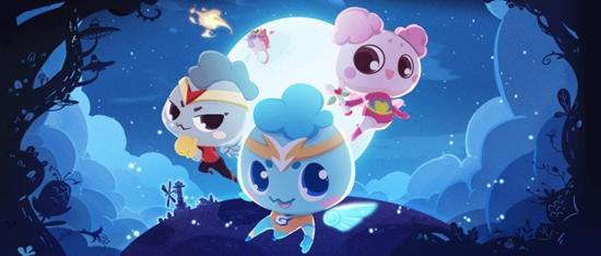 8月12日《甜蜜特攻队》动画片哈哈炫动首播,18:00奇幻启程