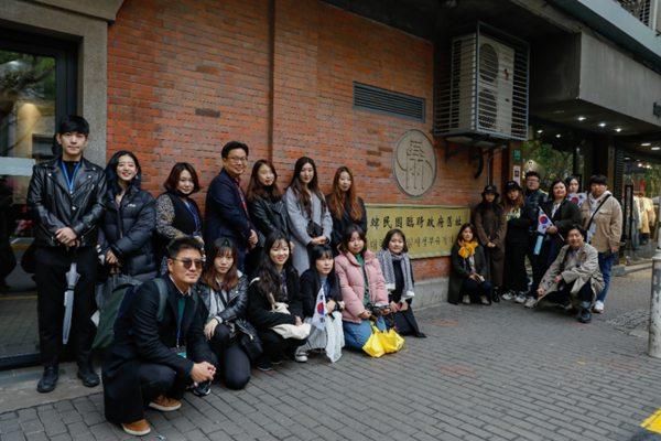 驻上海韩国文化院携手韩国宣传专家徐坰德(诚信女子大学教授) 共同成立韩国独立运动遗
