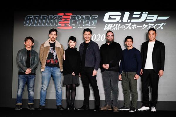 《特种部队》系列新作正式定名《特种部队:蛇眼起源》(暂译)  众主创亮相日本开启全