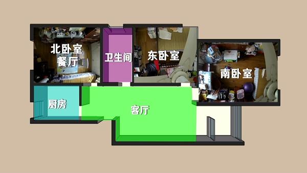 《梦想改造家》第七季温暖上线,设计师创意改造86平老公房,拯救超负荷的家