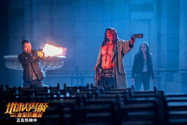 《地狱男爵》持续燃爆影院 每5分钟就有一个燃点获观众好评