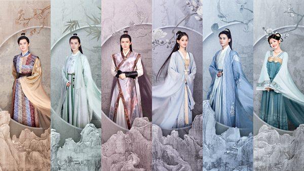 《莫染》发布工笔山水版人物海报 神仙选角演绎古今大医传奇